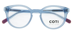 VARESE MATT LIGHT BLUE READING GLASSES