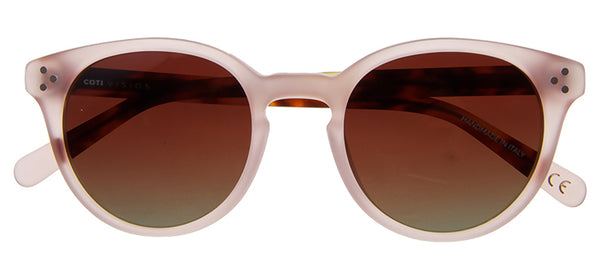 Varese Sunglasses Matt Light Rose