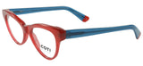 Enna Reading Glasses Burgundy