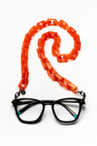 AMORE ITALIA Glasses Chain Dolce Candy Orange