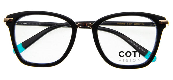 Gubbio Black Reading Glasses