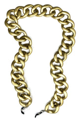 AMORE ITALIA Glasses Chain Diva Matt Gold