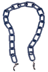 AMORE ITALIA Glasses Chain Cuore Dark Blue (Matte)