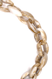 WHITBY LIGHT BROWN MARBLE GLASSES CHAIN