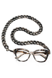JOEN Glasses Chain Dark Grey Marble