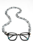 JOEN Glasses Chain Light Grey Marble
