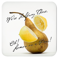 Musical Pun Fruity Coasters