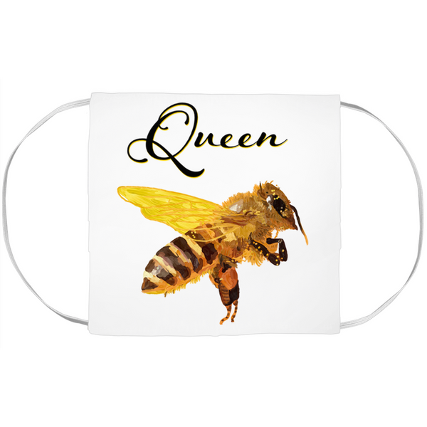 Queen Bee Face Mask Cover