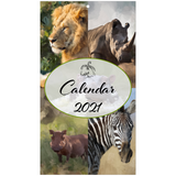 Safari Wall Calendar