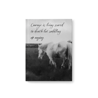 Horse Journal - Courage
