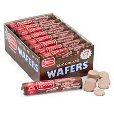 Necco Wafers- Chocolate