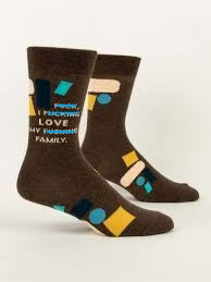 I Love My Family Socks