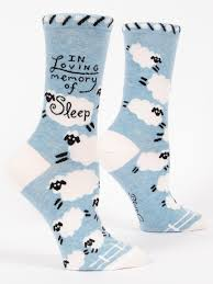 Loving Memory Of Sleep Socks