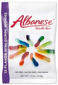 Albanese Gummi Worms