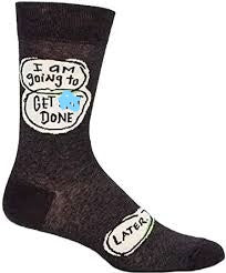 Get S*** Done... Later Socks