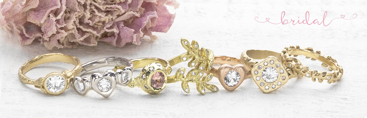 boho alternative engagement rings
