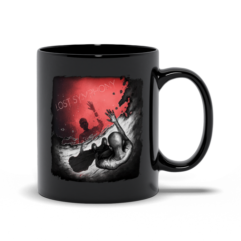 Negation Delirium Black Mugs