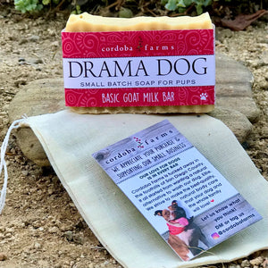Drama Dog - Soothing Goat Milk Bar