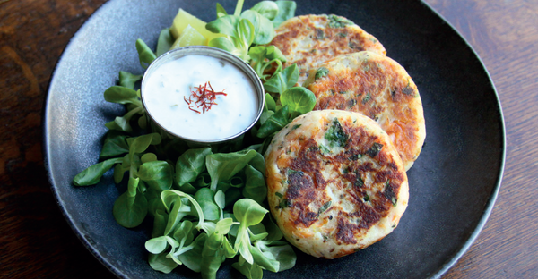 Classic fishcakes with ChalkStream® trout, potato and parsley