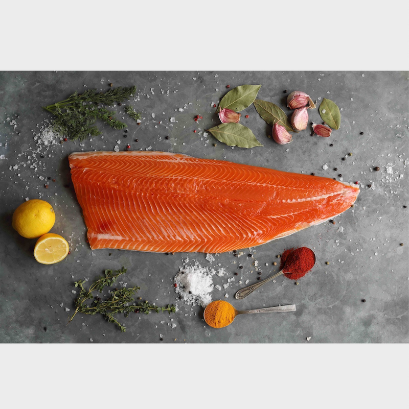 Fresh Fillet of ChalkStream® Trout - (min 650g)