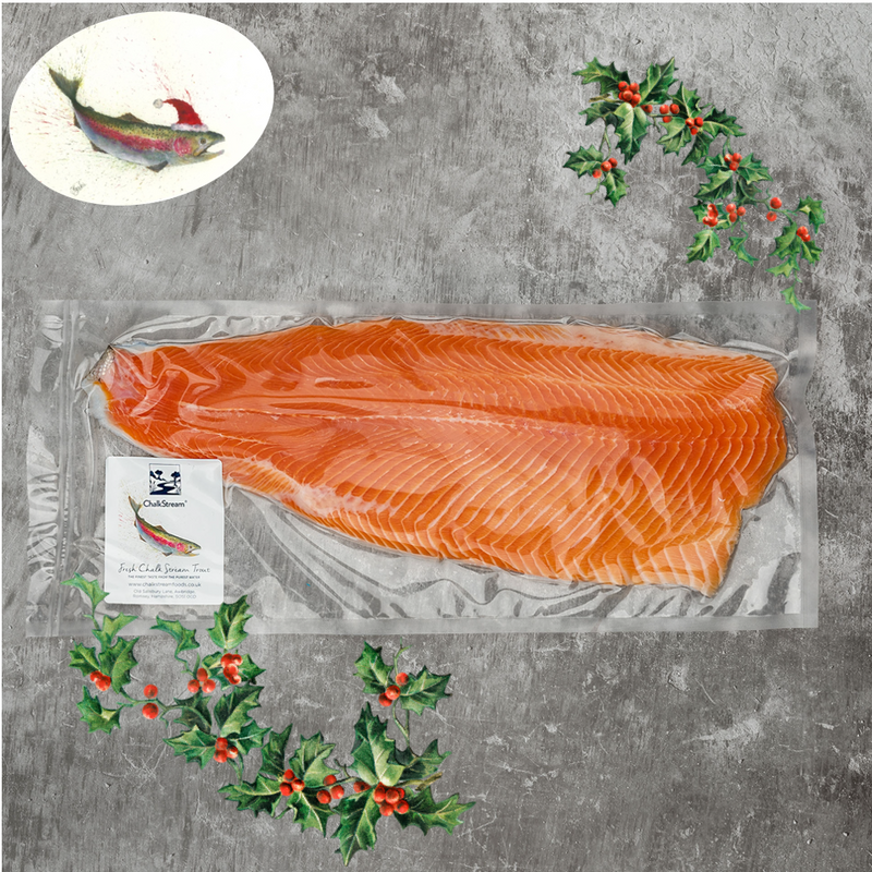 Fresh Fillet of ChalkStream® Trout - (min 650g) CHRISTMAS DELIVERY