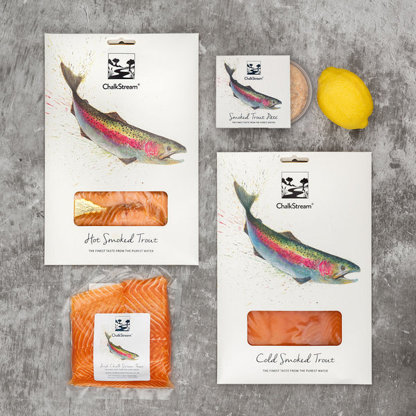 Hampshire Fish Box - fresh and smoked ChalkStream® trout