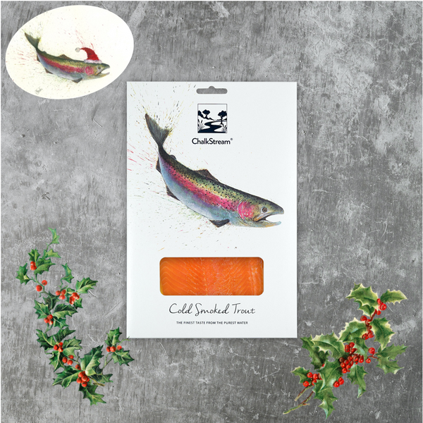 Cold Smoked ChalkStream® Trout - (100g) CHRISTMAS DELIVERY
