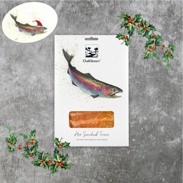 Hot Smoked ChalkStream® Trout - (200g) CHRISTMAS DELIVERY