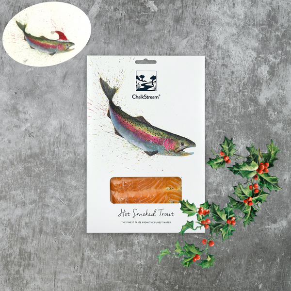 Hot Smoked ChalkStream® Trout - (125g) CHRISTMAS DELIVERY