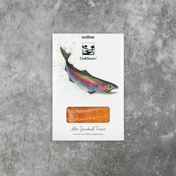 Hot Smoked ChalkStream® Trout - Medium Pack (200g)