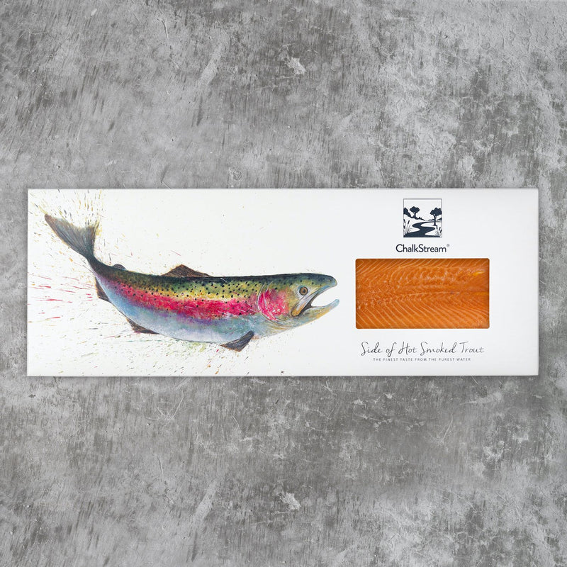 Hot Smoked ChalkStream® Trout - Side (min 500g)