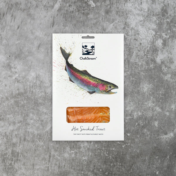 Hot Smoked ChalkStream® Trout - Small Pack (125g)