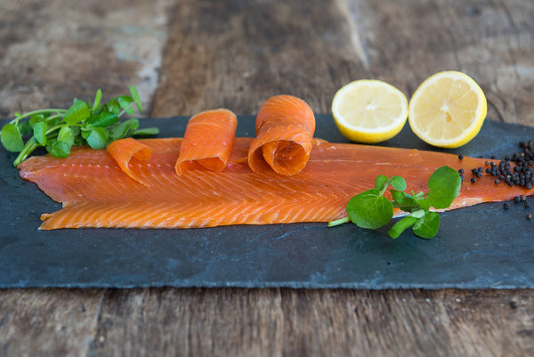 Cold Smoked ChalkStream® Trout Side (min 650g) CHRISTMAS DELIVERY