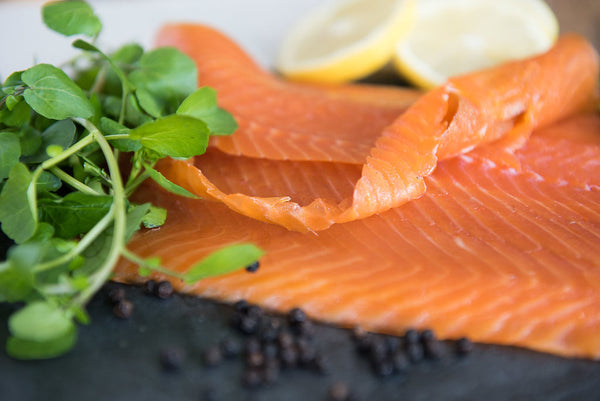 Cold Smoked ChalkStream® Trout - (200g) CHRISTMAS DELIVERY