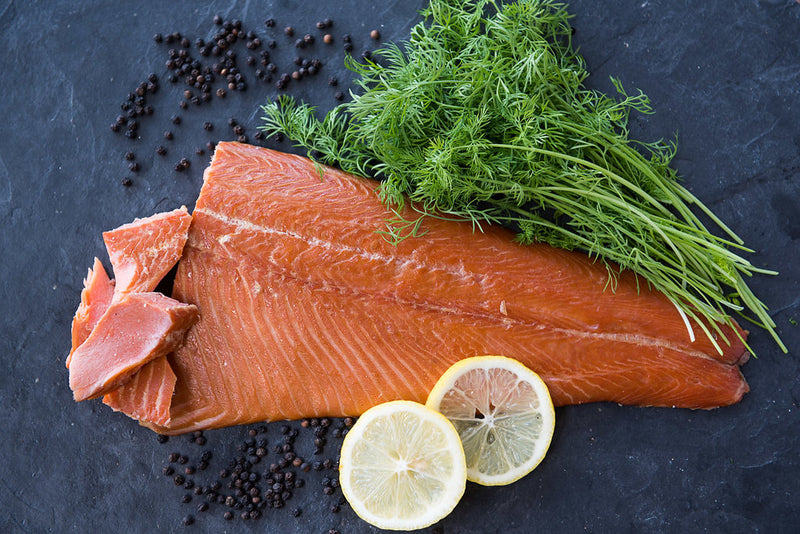 Hot Smoked ChalkStream® Trout Side (min 500g) - CHRISTMAS DELIVERY