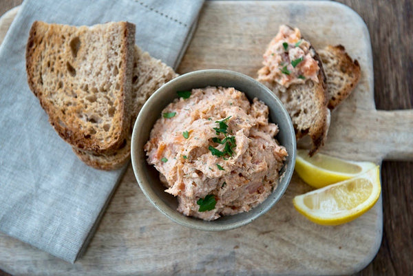 ChalkStream® Cold Smoked Trout Paté - 150g pack