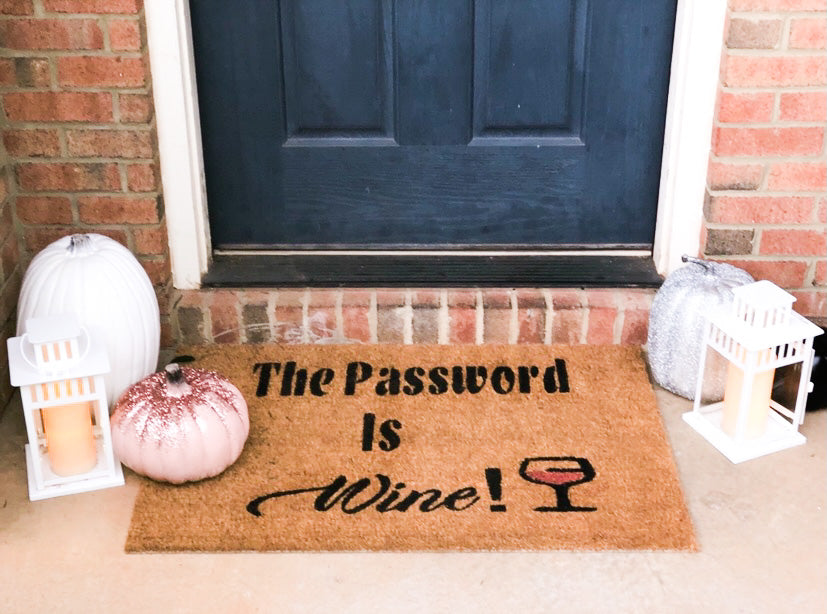 The Password Is Wine