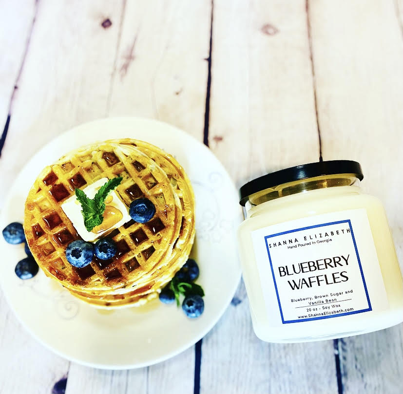 Blueberry Waffles 2-Wick Candle