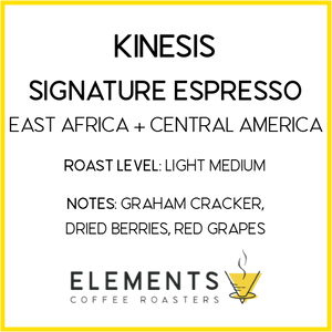 [PREORDER] 3 lb. Elements Coffee Roasters Bulk Whole Bean Coffee Bag