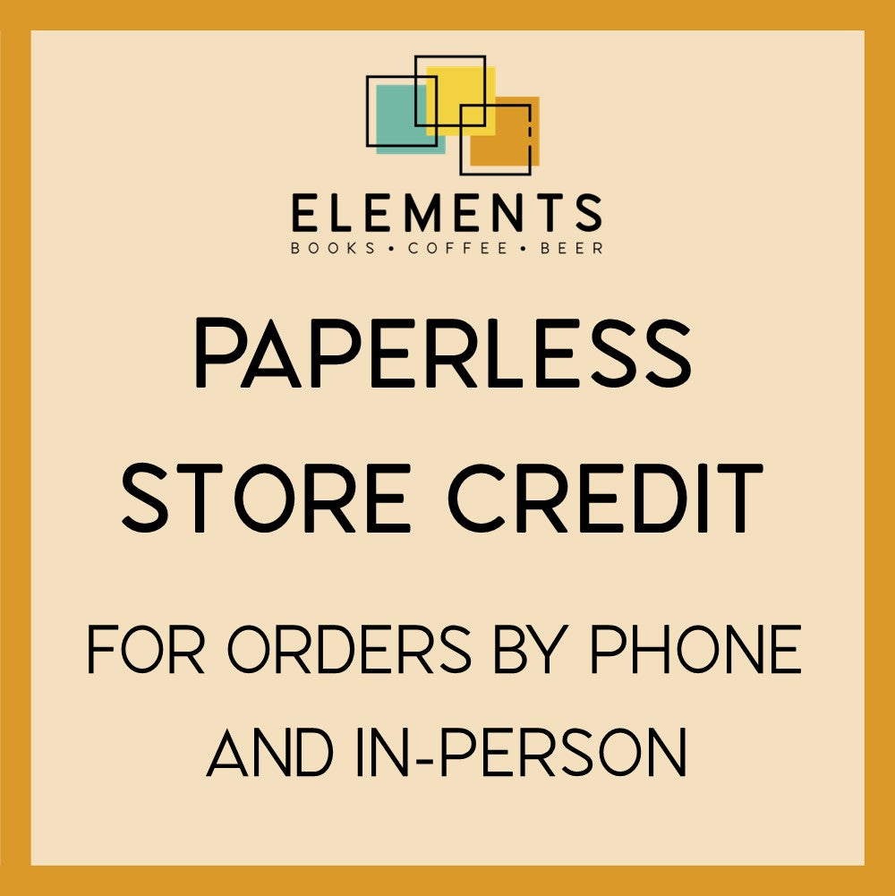 Elements: Books Coffee Beer STORE CREDIT