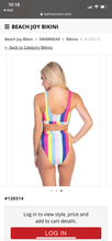 Load image into Gallery viewer, Sweet Escape - rainbow 2pc swimwear