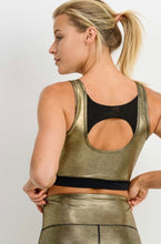 Load image into Gallery viewer, Winners Get The Gold - sports bra