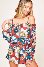 Load image into Gallery viewer, Take Me To Hawaii - Floral Romper