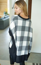 Load image into Gallery viewer, Checkered Knit Top