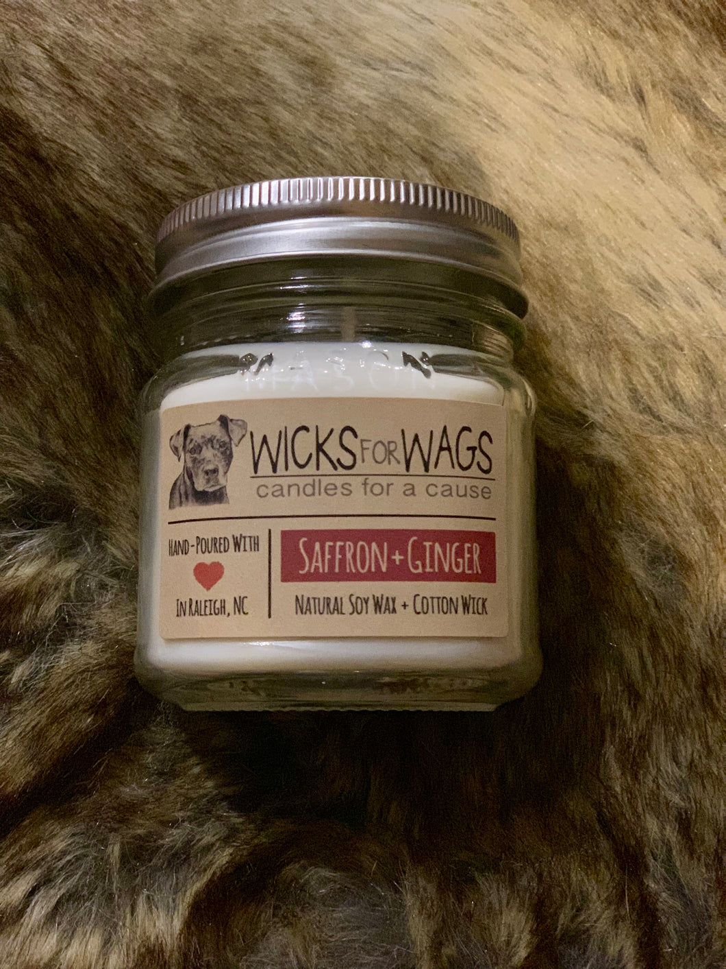 Wicks For Wags - Saffron + Ginger