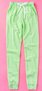 Mint Green French Terry Sweatpants