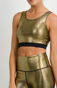 Winners Get The Gold - sports bra