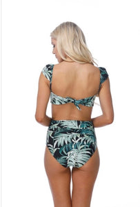 Tropical Breeze - palm tree 2 pc swimsuit