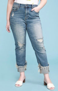 Judy Blue Cuffed Relaxed Fit