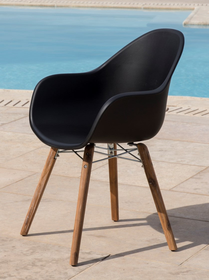 MILANA CHAIR (BLACK)